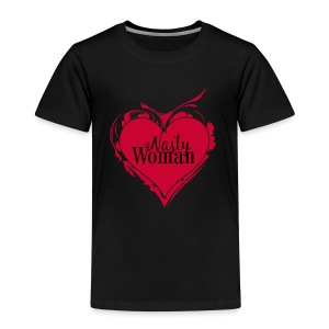 Nasty Woman ART Heart - Kinder Premium T-Shirt