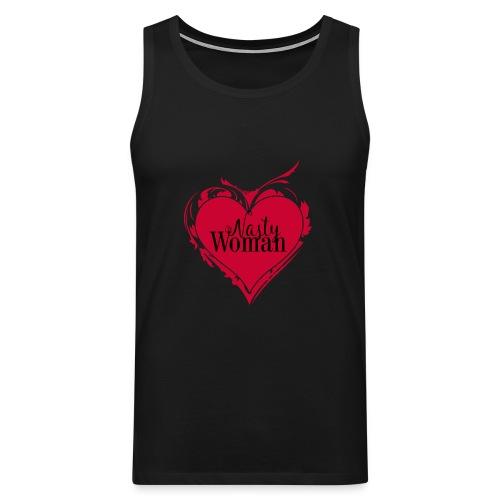 Nasty Woman ART Heart - Männer Premium Tank Top
