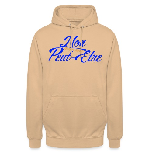 Sweat-shirt à capuche unisexe