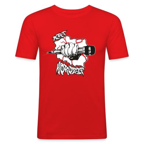 ArtKorozif.1 - T-shirt près du corps Homme