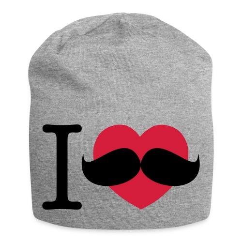 I Love Moustaches - Movember - Jersey Beanie