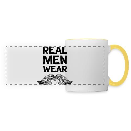 Real Men Wear Moustaches - Movember - Panoramic Mug