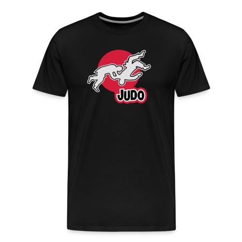 Schulterwurf Direktdruck - Männer Premium T-Shirt