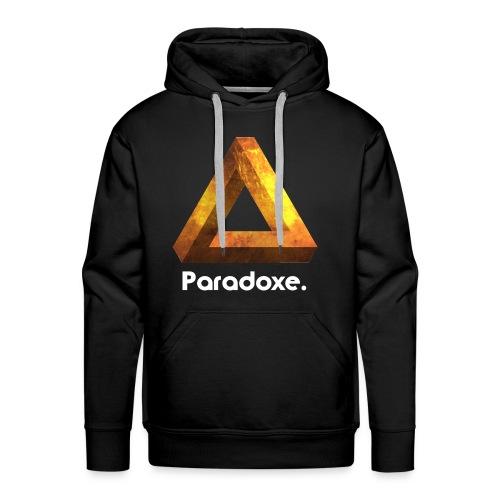Paradoxe. (Or) - Sweat-shirt Homme - Sweat-shirt à capuche Premium pour hommes