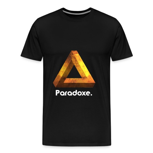 Paradoxe. (Or) - Sweat-shirt Homme - T-shirt Premium Homme