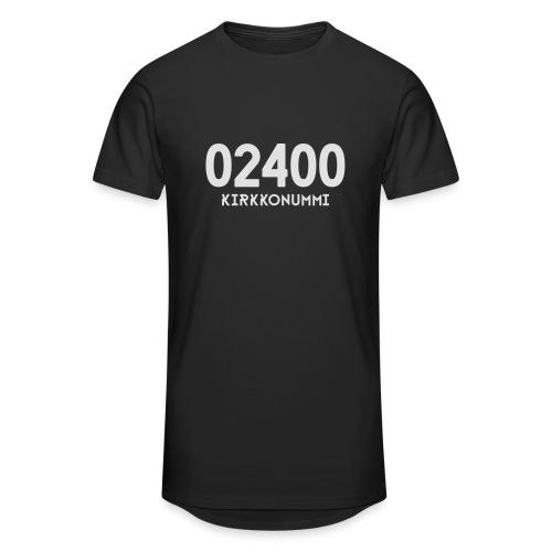 02400 KIRKKONUMMI - Miesten urbaani pitkäpaita