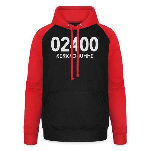 02400 KIRKKONUMMI - Unisex baseball-huppari