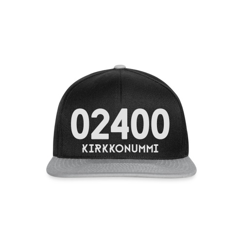 02400 KIRKKONUMMI - Snapback Cap