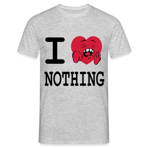 I love nothing - T-shirt Homme