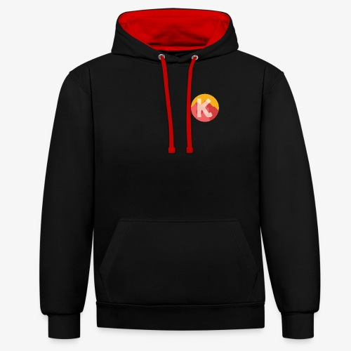 Over The KASHA Mountains - Contrast Colour Hoodie