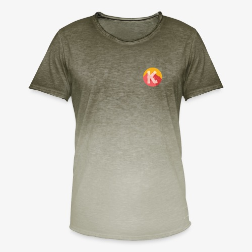 Over The KASHA Mountains - Men's T-Shirt with colour gradients