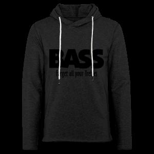 BASS Forget all your Trebles S-5XL T-Shirt - Leichtes Kapuzensweatshirt Unisex