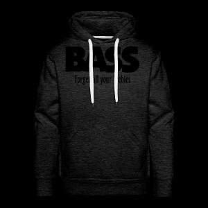 BASS Forget all your Trebles S-5XL T-Shirt - Männer Premium Hoodie