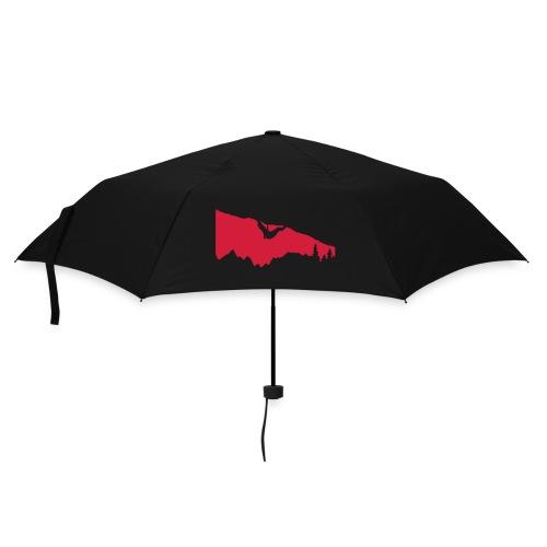 Boulderer im Überhang - Regenschirm (klein)