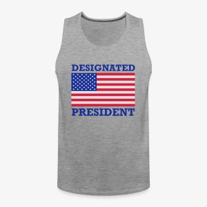 Designated President 3c Männer T-Shirt rot - Männer Premium Tank Top
