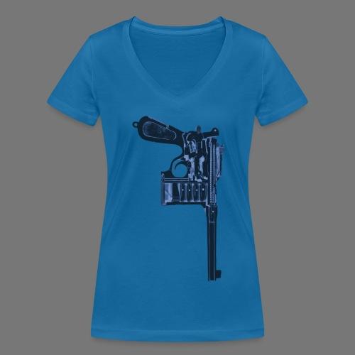 Concealed Intentions - Vrouwen bio T-shirt met V-hals van Stanley & Stella