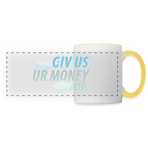 GivUsUrMoney Ltd. Official Shirt - Mens - Panoramic Mug