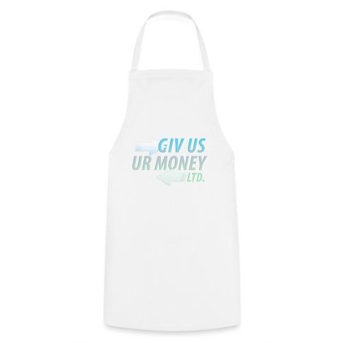 GivUsUrMoney Ltd. Official Shirt - Mens - Cooking Apron