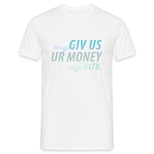 GivUsUrMoney Ltd. Official Shirt - Mens - Men's T-Shirt