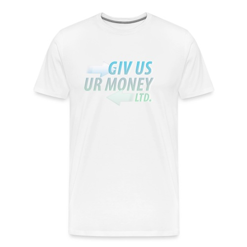 GivUsUrMoney Ltd. Official Shirt - Mens - Men's Premium T-Shirt