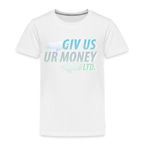 GivUsUrMoney Ltd. Official Shirt - Mens - Kids' Premium T-Shirt