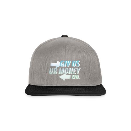 GivUsUrMoney Ltd. Official Shirt - Mens - Snapback Cap