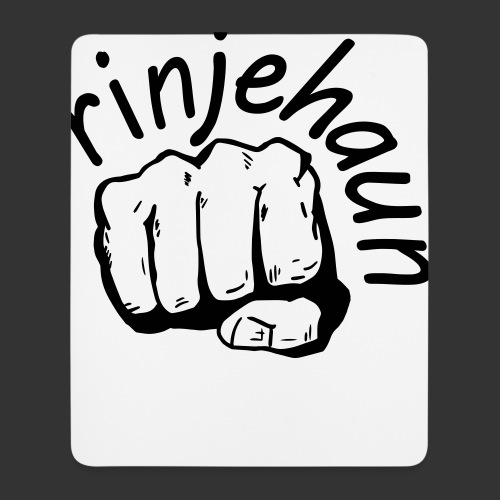 rinjehaun - Mousepad (Hochformat)