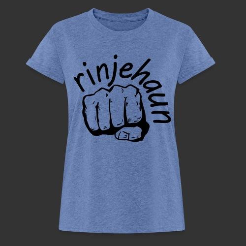 rinjehaun - Frauen Oversize T-Shirt