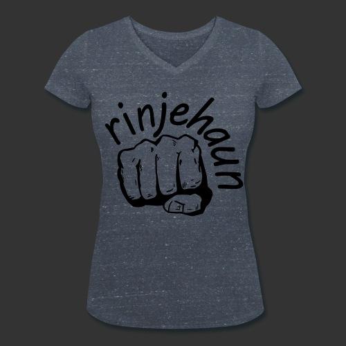 rinjehaun - Frauen Bio-T-Shirt mit V-Ausschnitt von Stanley & Stella