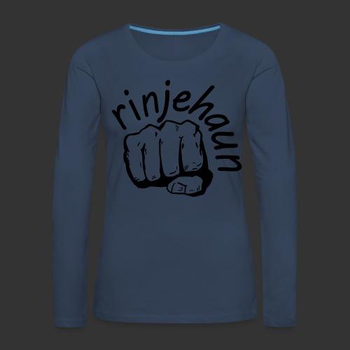rinjehaun - Frauen Premium Langarmshirt