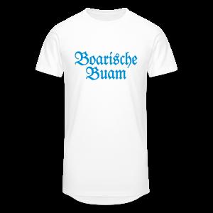 Boarische Buam Bayern S-5XL T-Shirt - Männer Urban Longshirt