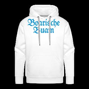 Boarische Buam Bayern S-5XL T-Shirt - Männer Premium Hoodie