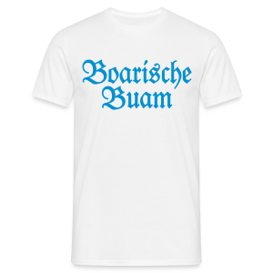 Boarische Buam Bayern S-5XL T-Shirt - Männer T-Shirt