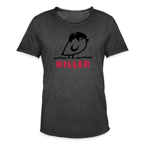 Tweetlercools KILLER Küken - Männer Vintage T-Shirt