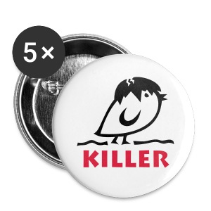Tweetlercools KILLER Küken - Buttons klein 25 mm