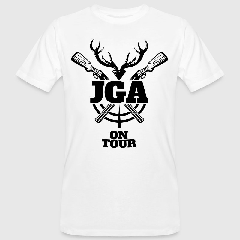 JGA Jagd on Tour T-Shirts - Männer Bio-T-Shirt