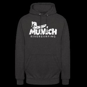 Munich Riversurfing (Vintage/Weiß) T-Shirt - Unisex Hoodie
