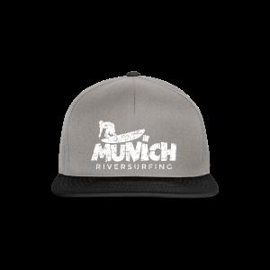 Munich Riversurfing (Vintage/Weiß) T-Shirt - Snapback Cap