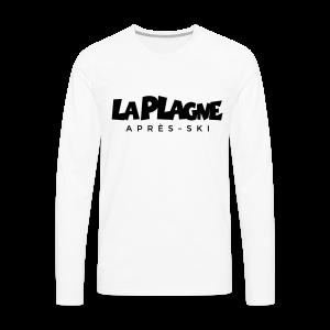 La Plagne Après-Ski Gold S-5XL T-Shirt - Männer Premium Langarmshirt