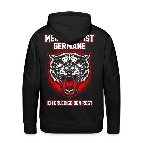 Mein Herr ist Germane - Männer Premium Hoodie