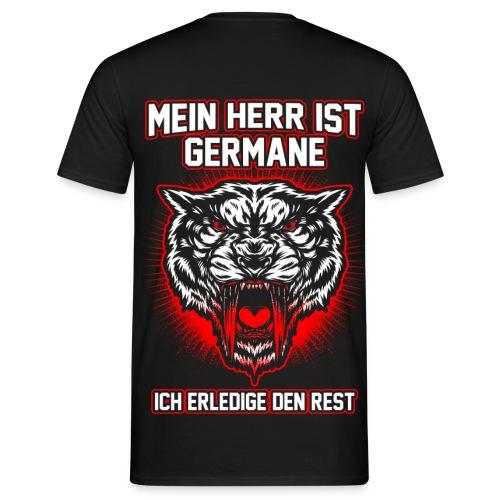 Mein Herr ist Germane - Männer T-Shirt