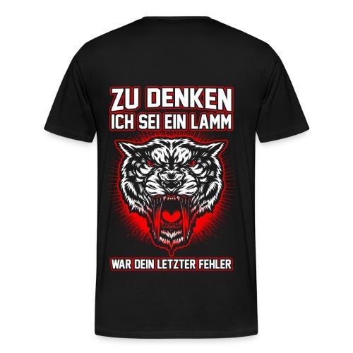 Dein letzter Fehler - Männer Premium T-Shirt