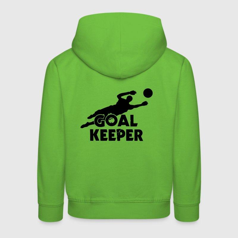 Soccer Player Goal Keeper Hoodies - Kids' Premium Hoodie