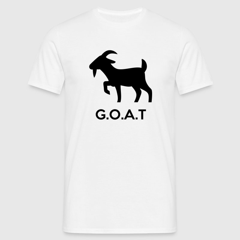 The G.O.A.T (Greatest Of All Time) T-Shirts - Men's T-Shirt