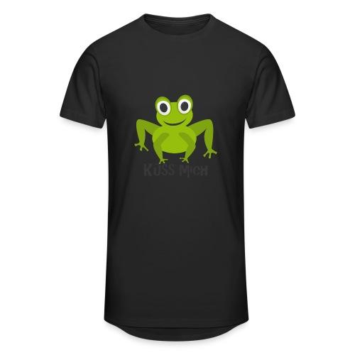 Frosch küss mich | Tierisches Motiv - Männer Urban Longshirt
