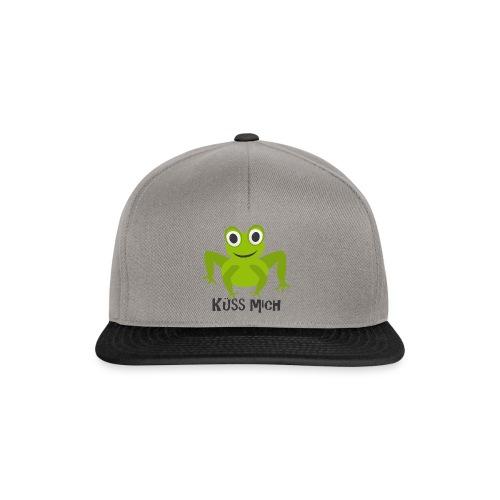 Frosch küss mich | Tierisches Motiv - Snapback Cap