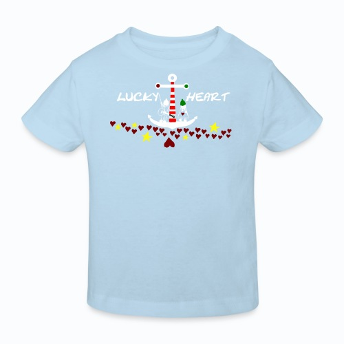 Lucky Heart - Painting the moon - Kinder Bio-T-Shirt