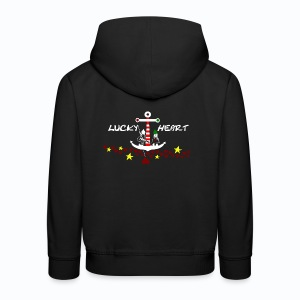 Lucky Heart - Painting the moon - Kinder Premium Hoodie