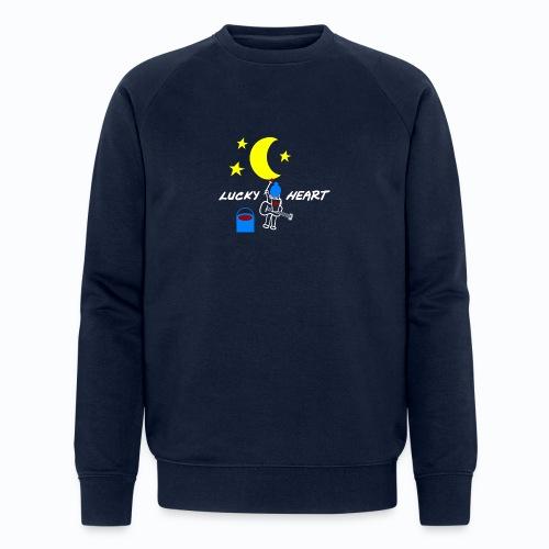 Lucky Heart - Painting the moon - Männer Bio-Sweatshirt von Stanley & Stella