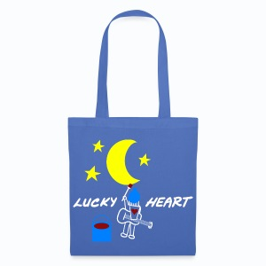 Lucky Heart - Painting the moon - Stoffbeutel